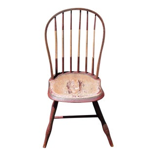 19th Century Original Painted Windsor Chair