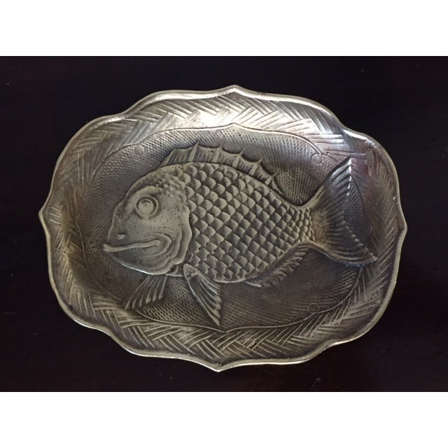 Image of Brass Fish Tray