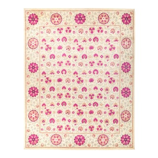 """Suzani Hand Knotted Area Rug - 12' 3"""" X 15' 3"""""""