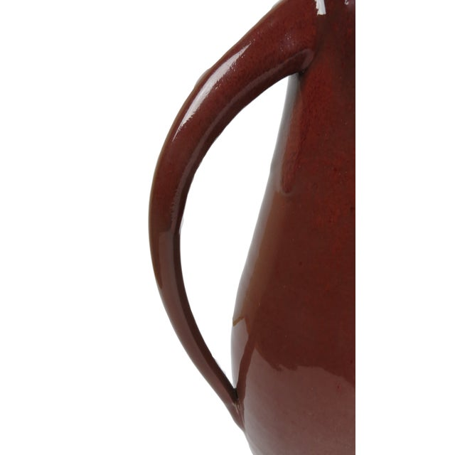 Image of Oxblood Red Studio Pottery Vase