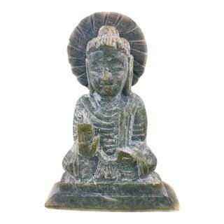 Gray Soapstone Buddha Figurine