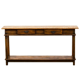 Reclaimed Wood Console Table Moving Sale 40% Off