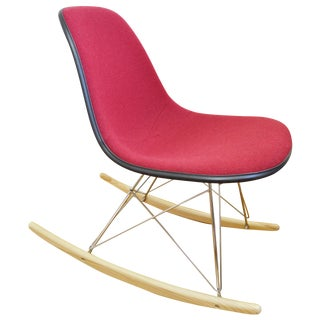 Herman Miller Eames Red Rocking Chair Side Shell