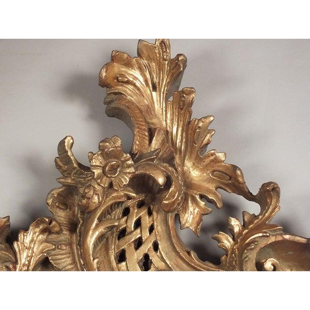 Italian Rococo Gilt Resin Wall Mirrors - A Pair - Image 3 of 7