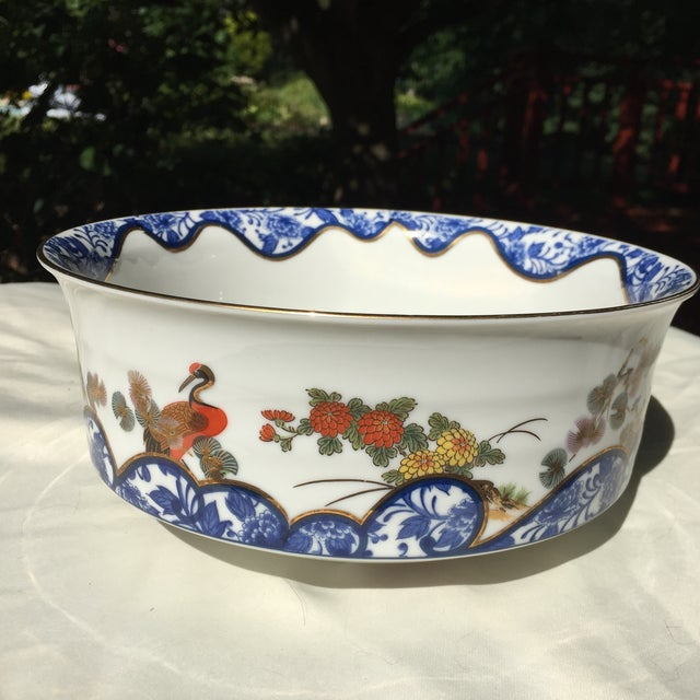 Chinoiserie Gold Leaf Bowl - Image 3 of 5