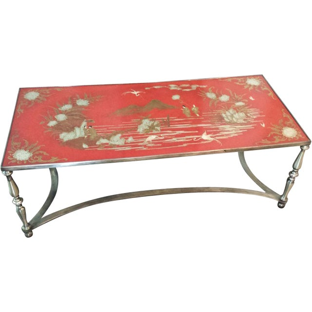 Trouvailles Chinoiserie Cocktail Coffee Table - Image 1 of 8