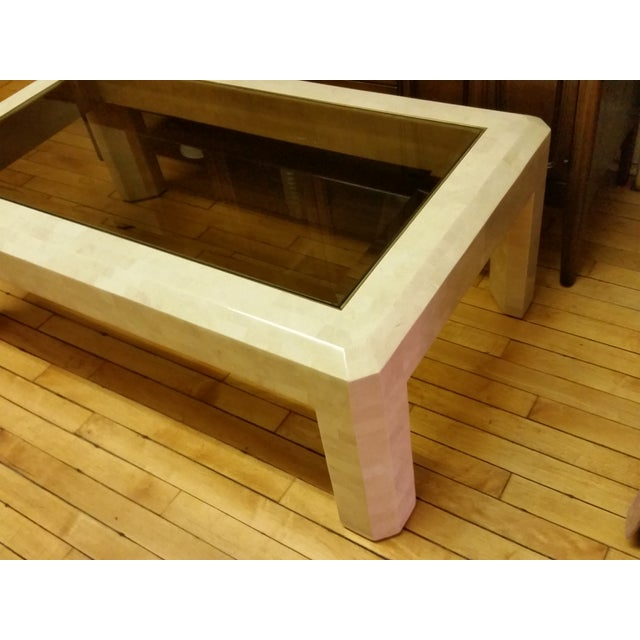 Maitland Smith Tessellated Stone Coffee Table Image 6 Of 10