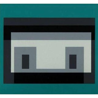 "1968 Josef Albers ""Ten Variants"" Series Silkscreen Print"