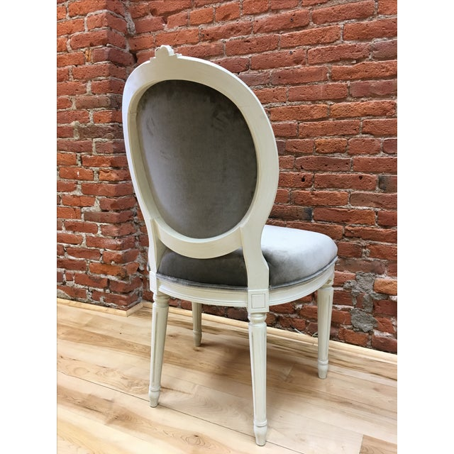 Swedish Gustavian Style Side Chair - Image 3 of 9