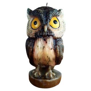Jumbo Owl Candle