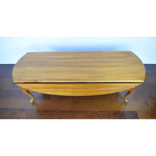 Queen Anne Oval Coffee Table - Image 9 of 11
