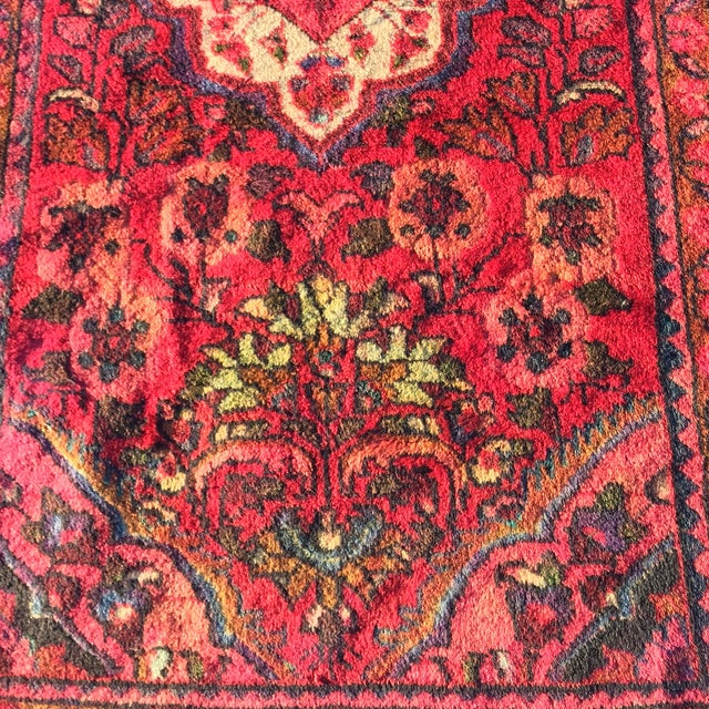 Vintage Lilihan Persian Rug - 2′4″ × 4′3″ - Image 4 of 7