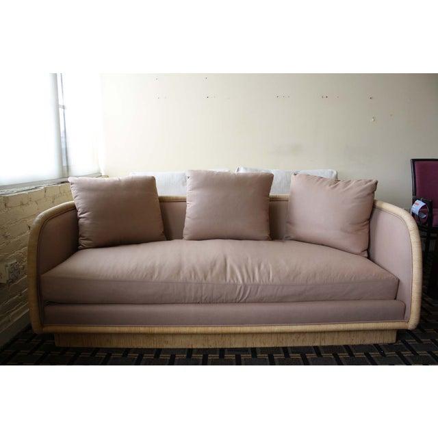 McGuire Laura Kirar Coastal Upholstered Sofa - Image 2 of 6