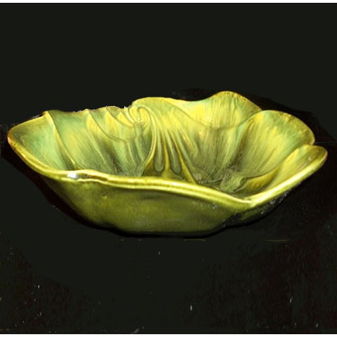 Image of Green Deforest Pottery Bowl