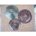 Image of Enamel on Copper Plates - Set of 3