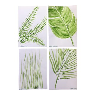 Green Space Series - Set/4 Original Paintings