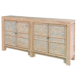 Sarrid Ltd. C. 1900 Pine Gansu Cabinet