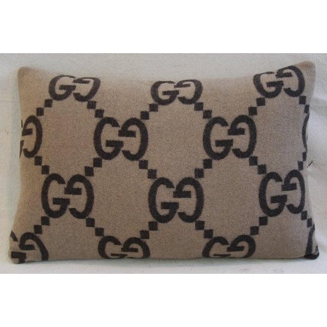 Gucci Cashmere & Velvet Pillows - Pair - Image 10 of 11
