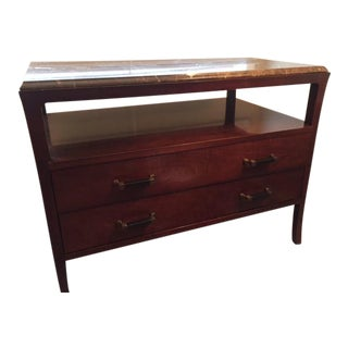Baker Marble Top Station Chest