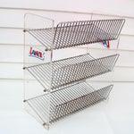 Image of Lance Industrial Metal Three-Tier Storage Rack