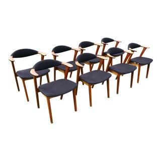 Kierkegaard Danish Modern Dining Chairs - Set of 8