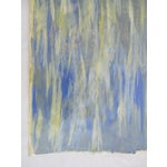 Image of Alaina Blue Green Streak Painting
