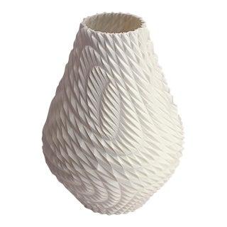 Triangle Grid 3D Printed Plastic Vase