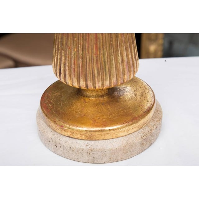 Giltwood Deco Style Table Lamp - Image 3 of 7
