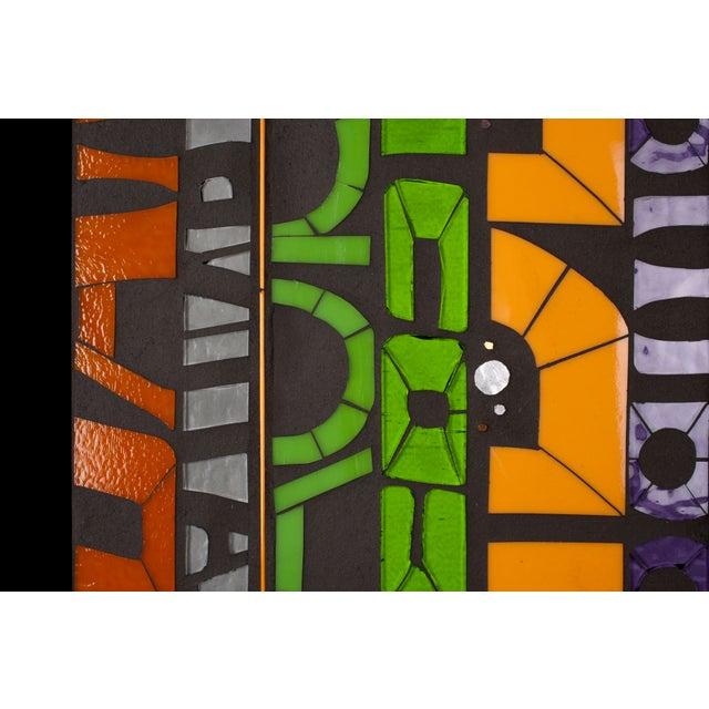 """Scan 2.1"" Cut Glass Art - Image 3 of 5"