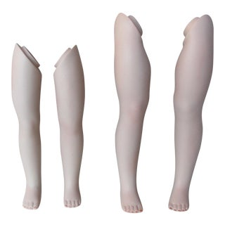 Vintage Dolls' Leg Collection - Set of 4
