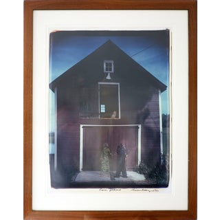 William Wegman Farm Portrait Polaroid