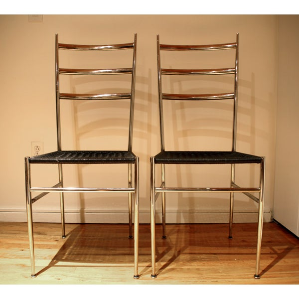 Ponti / Starck Superleggera Ladderback Chairs - 2 - Image 2 of 5