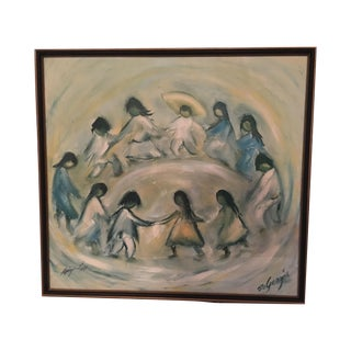 """Los Ninos"" by Ted DeGrazia"