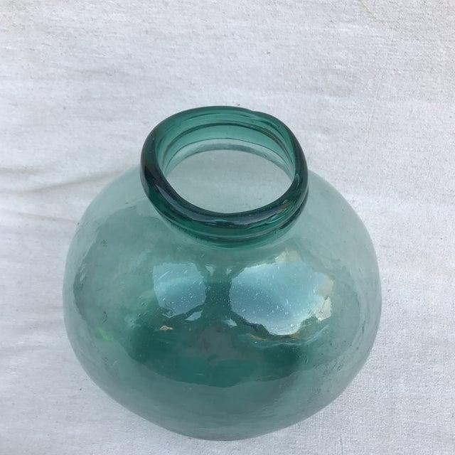 Image of Spanish Hand Blown Glass Pharmacy Jar