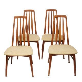 Niels Koefoed Eva Dining Chairs - Set of 4