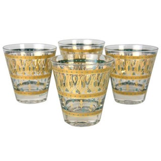 Vintage European Cocktail Glasses - Set of 4