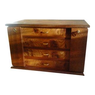 Osvaldo Agresti Briarwood Four Drawer Jewelry Box