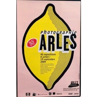 Michel Bouvet Festival Poster - Lemon
