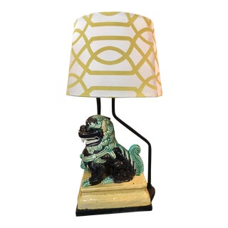 Foo Dog Chinese Lamp