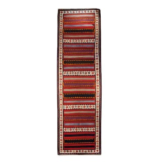 Early 20th Century Zarand Kilim Carpet