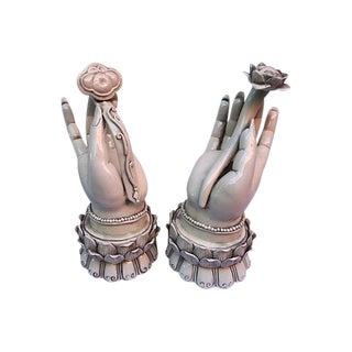 Hands of Goddess Quan Yin - a Pair