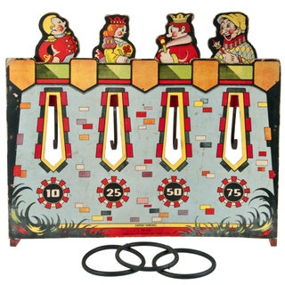 Vintage American Ring Toss Game