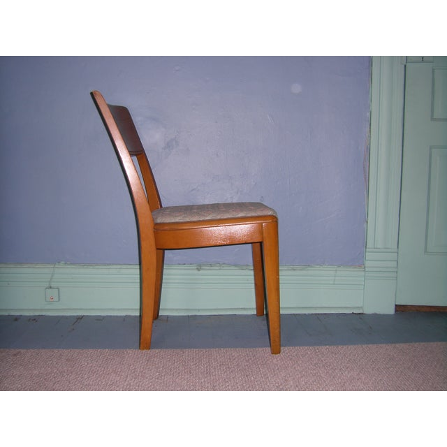 Heywood Wakefield Keyhole Desk & Chair - Image 9 of 11