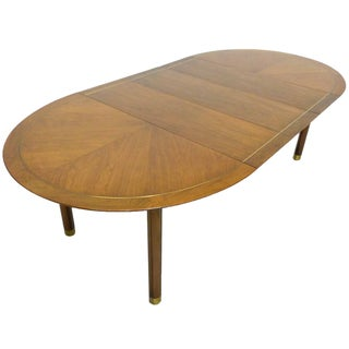 Baker Far East Round-to-Oval Dining Table
