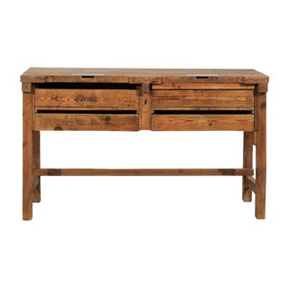 19th Century Jeweler's Table or Work Bench