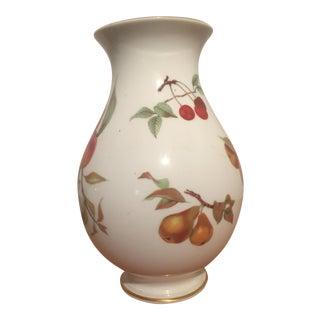 70s Royal Worchester Evesham Gold Trimmed Vase