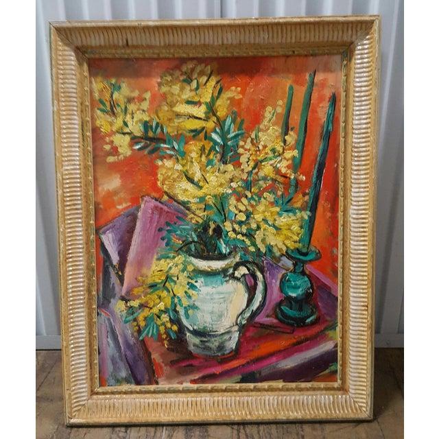 Framed Still Life Painting - Image 2 of 3