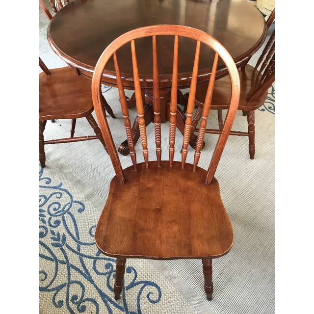 Round Table & Chair Set - Image 3 of 5