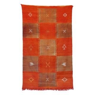 """Vintage Moroccan Cactus Silk Rug - 4'7"""" X 7'8"""""""