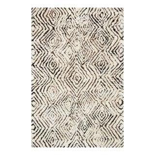 Folklore Ivory & Granite Area Rug - 3′6″ × 5′6″